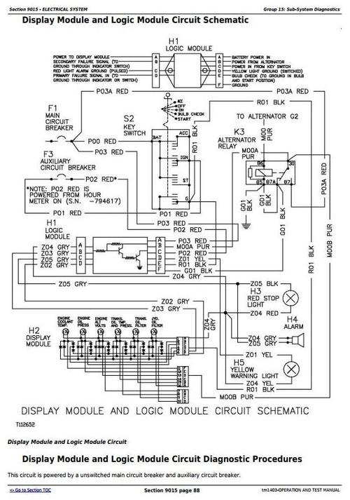 [SCHEMATICS_43NM]  Deer 450G, 455G, 550G, 555G, 650G Crawler Dozer/Loader Diagnostic Workshop  Service Manual (tm1403) - Tradebit   John Deere 650g Wiring Diagram      Tradebit