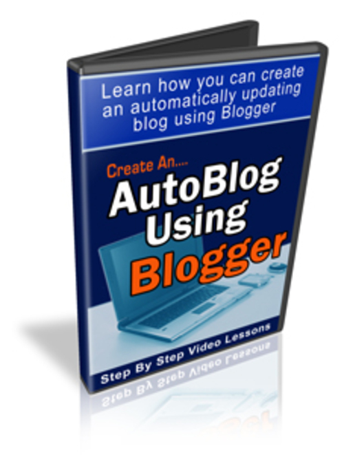 Pay for Create An Autoblog Using Blogger