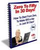 Thumbnail Zero to Fifty in 30 Days