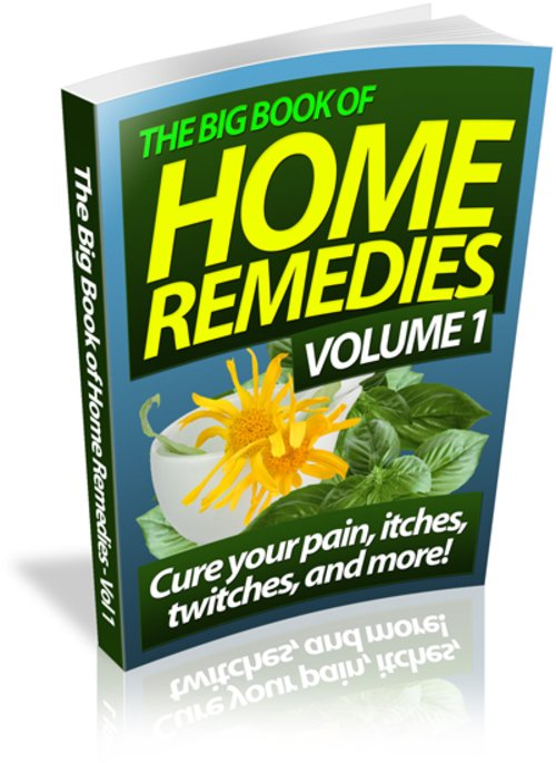 Pay for Home Remedies Ebook Volume 1