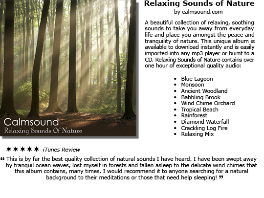 Pay for Relaxing Sounds of Nature - The Pure Meditation Album