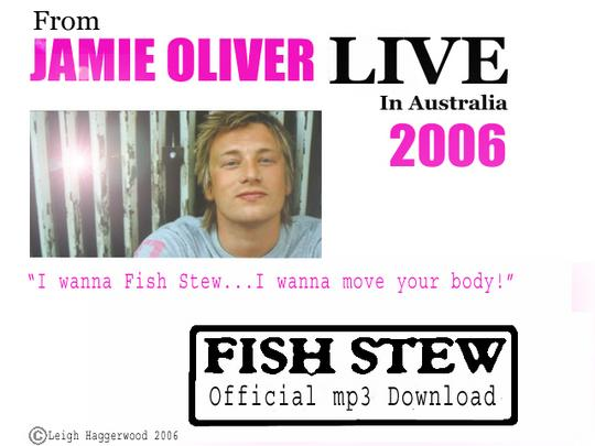 Pay for Jamie Oliver - Fish stew song