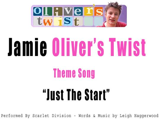 Pay for Oliver´s Twist Theme Song (Jamie Oliver)