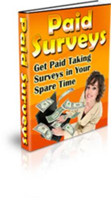 Pay for Paid Surveys/Make Money For Surveys
