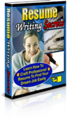 Pay for Resume Writing Secrets/How To Write A Resume