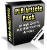 Thumbnail 30 High Quality Webhosting PLR Articles.zip