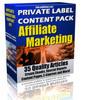 Thumbnail 35 Affiliate Marketing PLR Article Pack