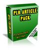 Thumbnail PLR Article Pack