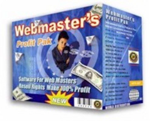 Pay for Webmasters Profit Pak Software Business Package