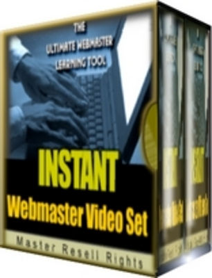 Pay for Instant Webmaster - Video Set