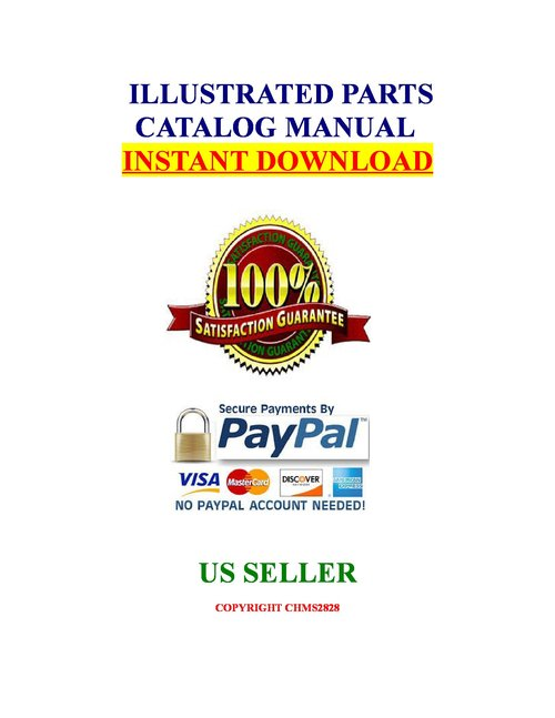 Pay for Jeep Grand Cherokee ZJ 1997 Parts List Manual Catalog Illust