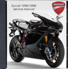 Thumbnail Ducati 1098 - 1098S 2007 Service Manual + others