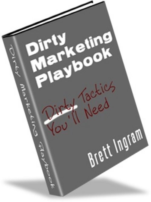 Pay for Dirty Marketing Play Book -Make Money From your Website