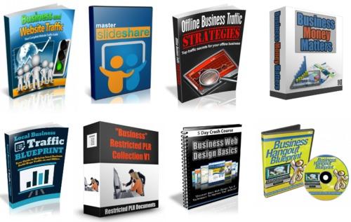Pay for Start To Enjoy 18 PLR Business Ebooks