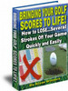 Thumbnail Tips To A Better Golf Score (Master Resale Rights)