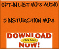 Thumbnail Opt-In MP3 Audio Insturction Guide