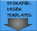 Thumbnail 55 Graphic Templates + Ebooks MRR