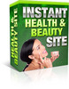 Thumbnail Mini Site Instant Health And Beauty (MRR)
