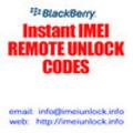 Thumbnail Blackberry Tour Unlock Code