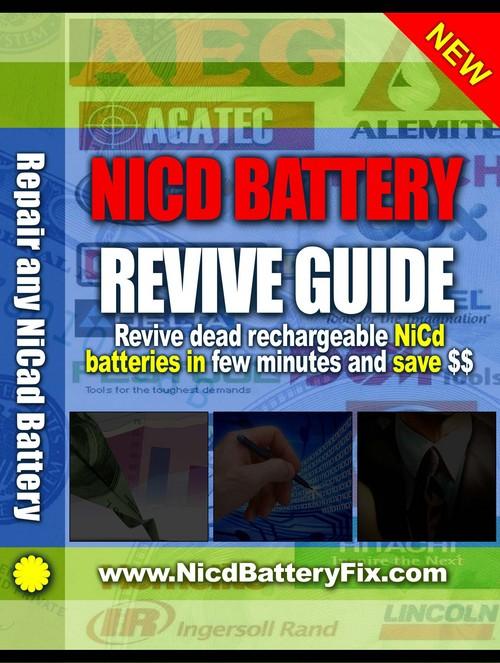Pay for Black & Decker Power Tool Battery Repair Guide - Rebuild Black & Decker NiCad battery