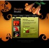 Thumbnail 12 FLASH CUSTOMIZABLE GRAPHICS DESIGN STUDIO WEBSITES