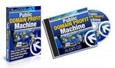 Thumbnail Public Domain Profit Machine Ebook & MP3 Audios - MRR