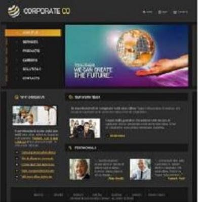Pay for 12 Customizable Professional Business Website Templates