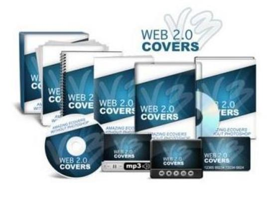 Pay for Web 2.0 Covers V3 Wiith Video Instructions