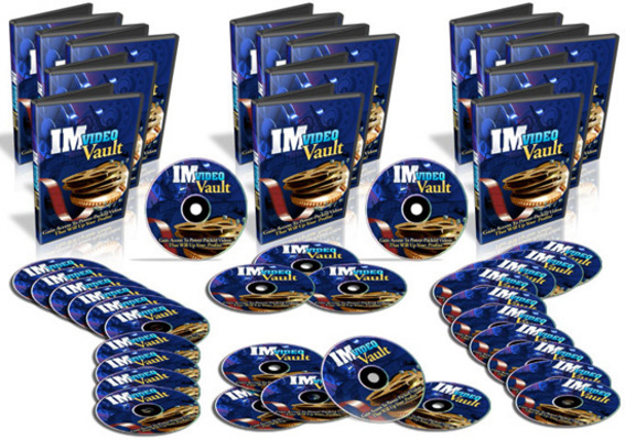 Pay for IM Video Vault - 30 Internet Marketing Video Tutorials - PLR