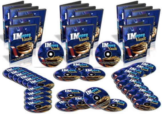Pay for IM Video Vault - 30 Internet Marketing Video Tutorials - PLR