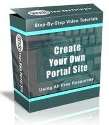 Pay for Create Your Own PORTAL Site Using Wordpress - Videos