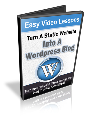 Pay for Turn A Static Website Into A Wordpress Blog