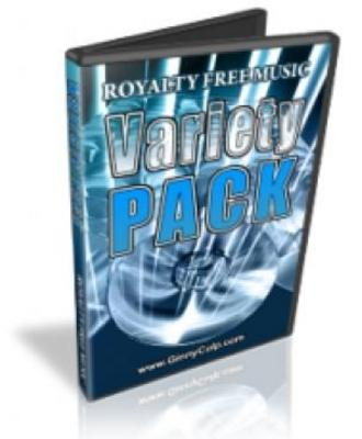 Pay for Royalty Free MP3 Music Variety Pack