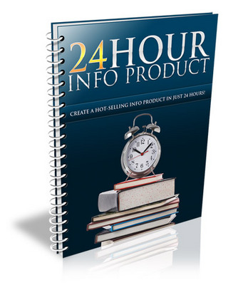 Pay for 24 Hour Info Product eBook With PLR