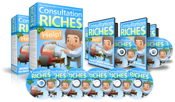 Pay for Consultation Riches Video Series Master Resell Rights