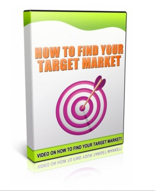 Pay for Video On How To Find Your Target Market!