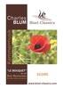 Thumbnail Blum: Le Bouquet op. 64