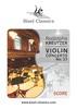Thumbnail Kreutzer: Violin Concerto Nr. 17