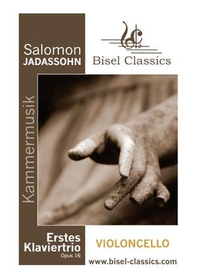 Pay for Jadassohn: Erstes Klaviertrio / 1st Piano Trio - Cello