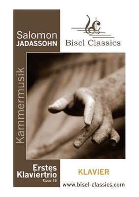 Pay for Jadassohn: Erstes Klaviertrio / 1st Piano Trio - Piano