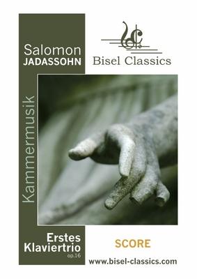 Pay for Jadassohn: Erstes Klaviertrio / 1st Piano Trio - Opus 16