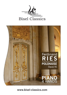 Pay for Ries: Polonaise op. 41 for Piano 4Hands