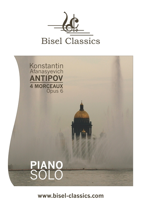 Pay for Antipov: 4 Morceaux, Opus 6, Piano Solo