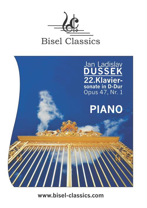 Pay for Dussek: 22. Klaviersonate in D-Dur, Opus 47, Nr. 1