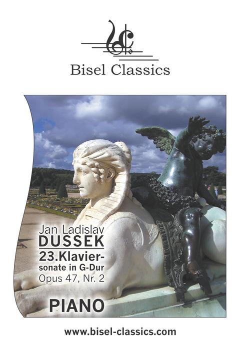Pay for Dussek: 23. Klaviersonate in G-Dur, Opus 47, Nr. 2