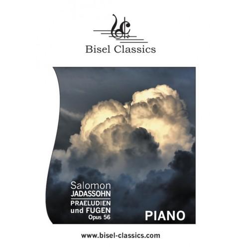 Pay for Jadassohn: Praludien und Fugen, Opus 56, Piano Solo