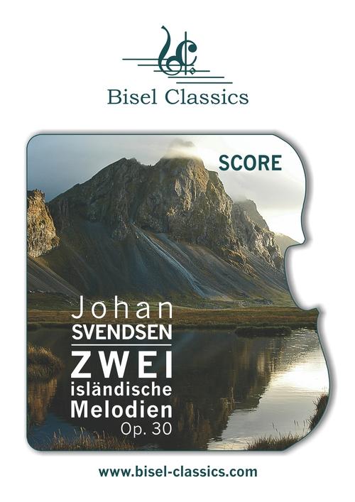 Pay for Svendsen: Zwei islandische Melodien - Score