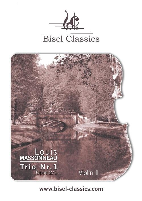 Pay for Massonneau: Trio Nr 1 Opus 2_1,  Violin 2 Part