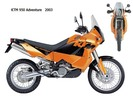 Thumbnail KTM 950 Adventure Owners Manual 2003