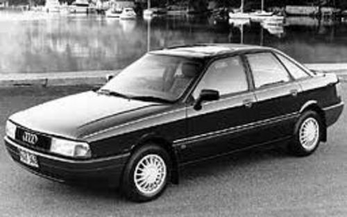 Pay for Audi 80 90 Service Repair Manual 1987